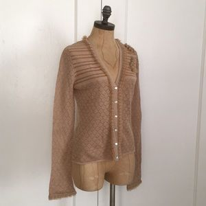 New Anthropologie Sweater Cardigan By Odille